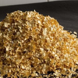 Q-loca Edible Gold Crumbs