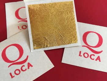 Q-loca 24K Genuine Gold Leaf