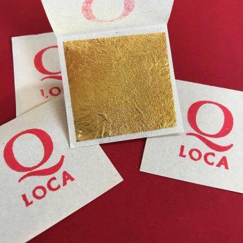 Q-loca 24K Genuine Gold Leaf
